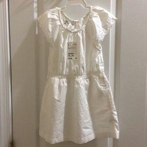 New girls white dress